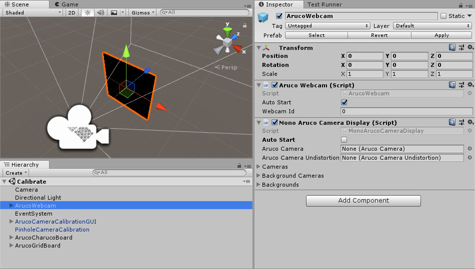 Calibrate a Camera | Aruco Unity documentation
